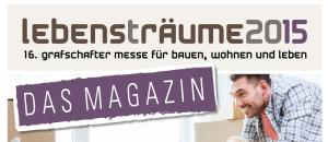 Lebensträume 2015 – das Magazin